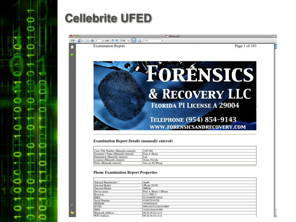 PPT - Forensics Toolbox PowerPoint Presentation - ID:555188