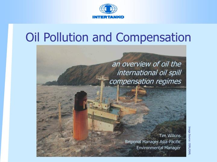 oil pollution and compensation n.