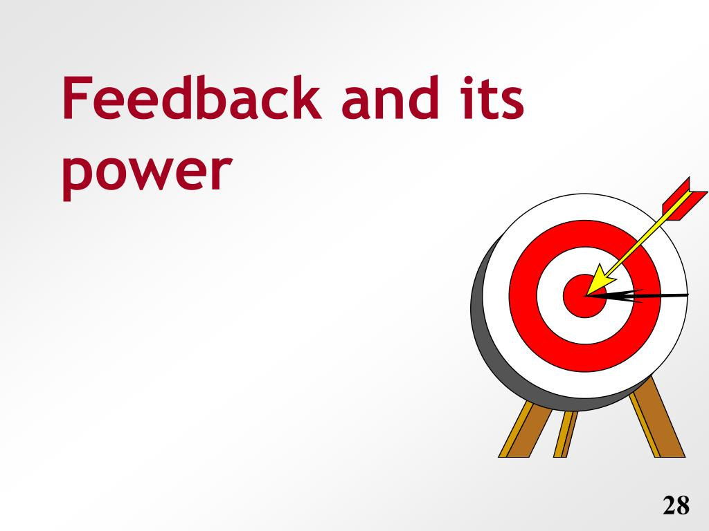 Feedback and its power