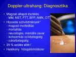 doppler ultrahang diagnosztika