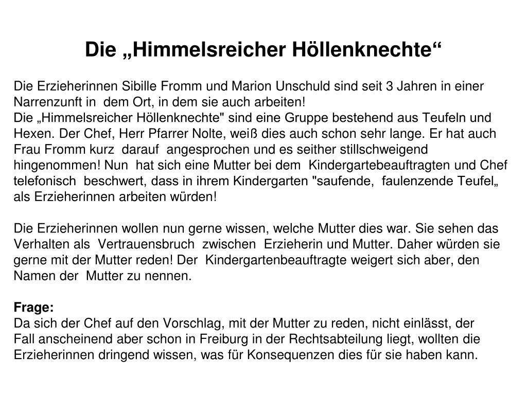 """Die """"Himmelsreicher Höllenknechte"""""""