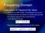 frequency domain5
