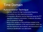 time domain6