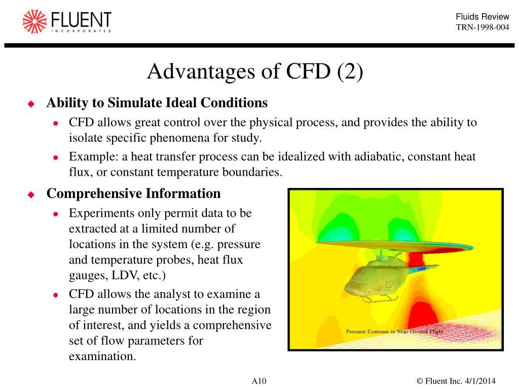 Advantages of CFD (2)