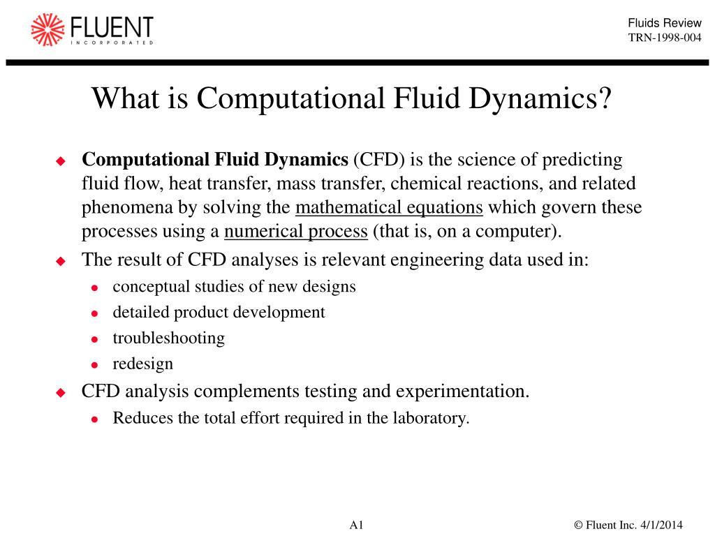 What is Computational Fluid Dynamics?