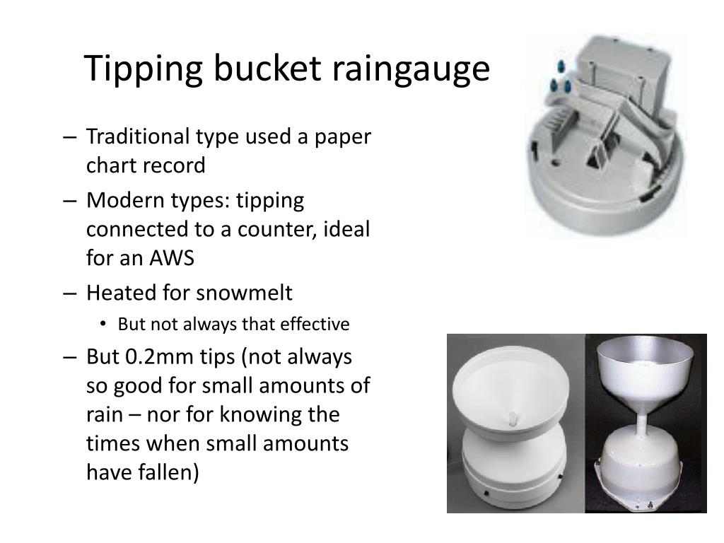 Tipping bucket raingauge