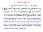 xe ion spectra t kato g o sullivan n yamamoto h tanuma et al