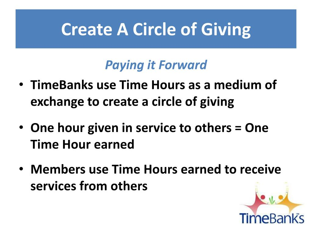 Create A Circle of Giving