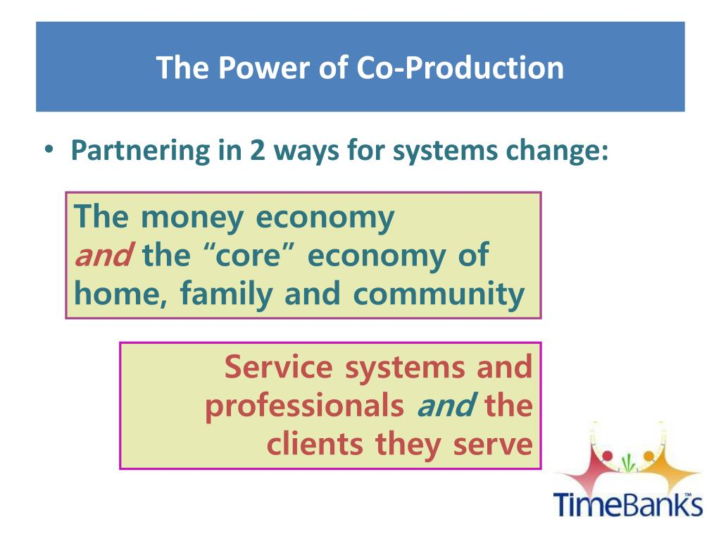 The Power of Co-Production
