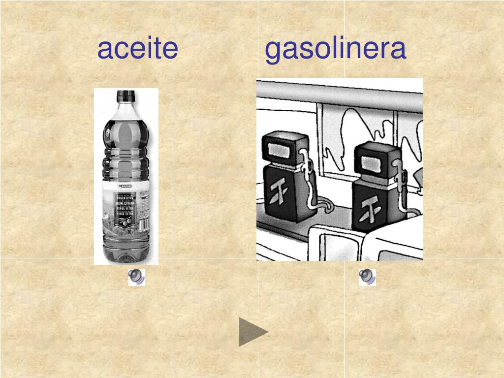 aceite          gasolinera