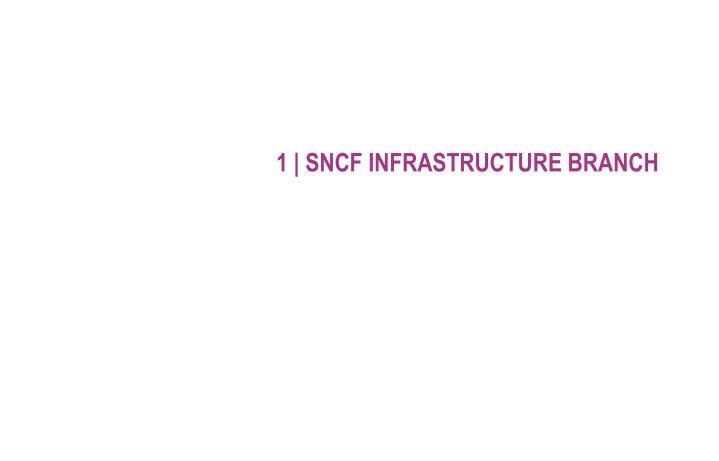 1 sncf infrastructure branch