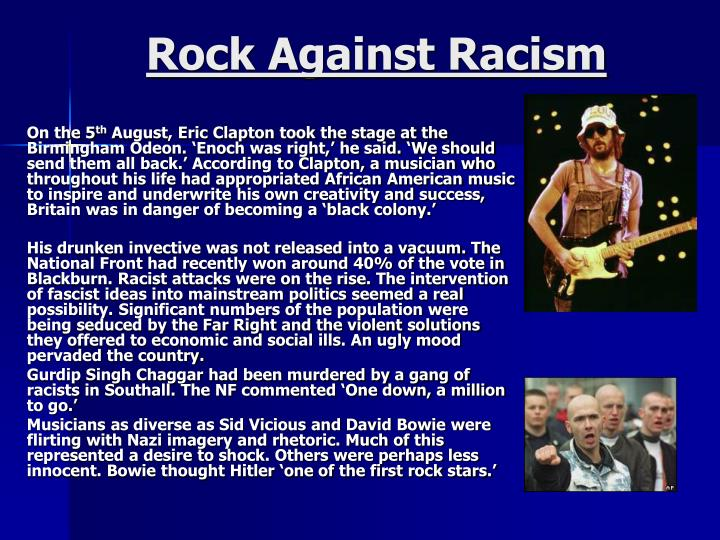 rock against racism n.