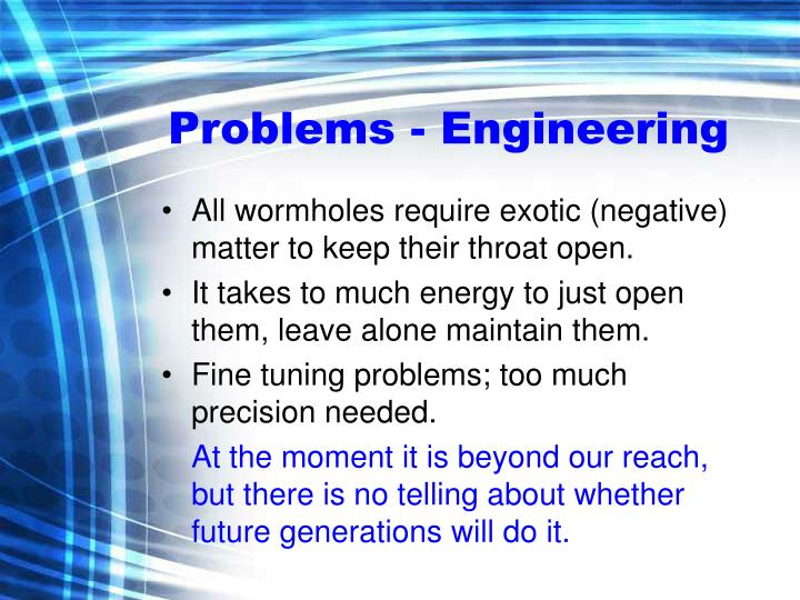 Problems - Engineering