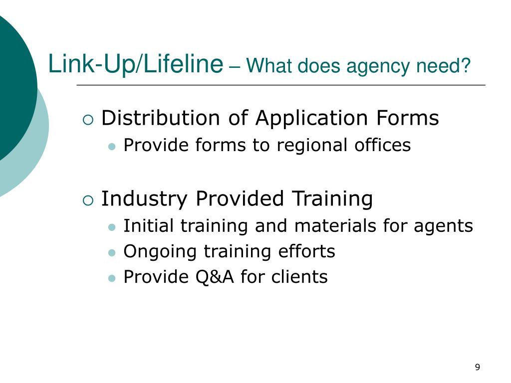 Link-Up/Lifeline