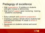 pedagogy of excellence