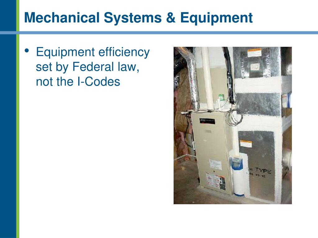 Mechanical Systems & Equipment