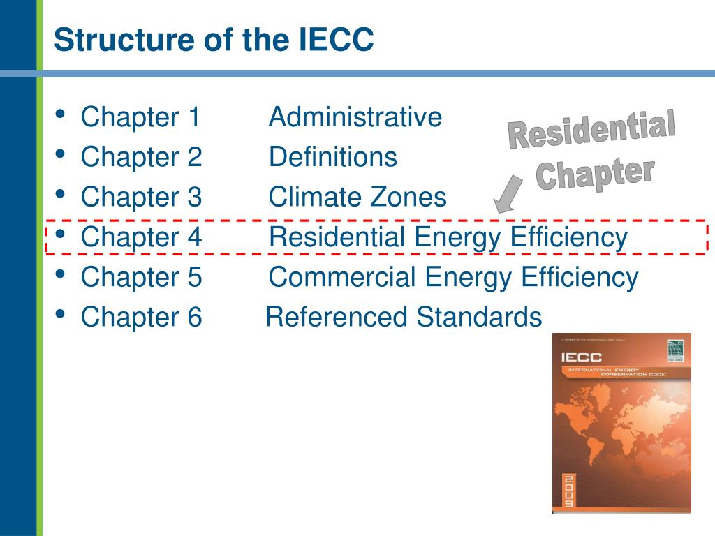 Structure of the IECC