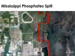 mississippi phosphates spill