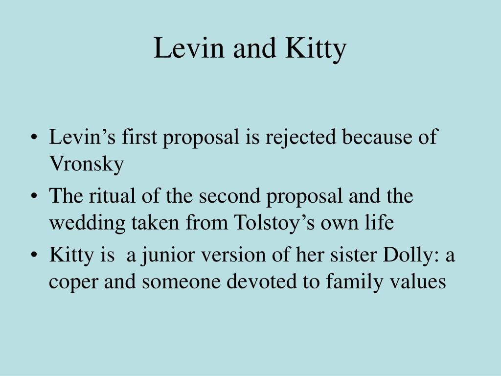 Levin and Kitty