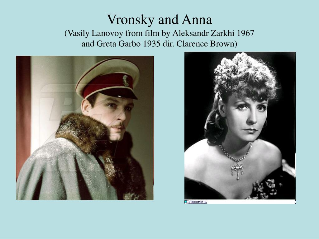 Vronsky and Anna