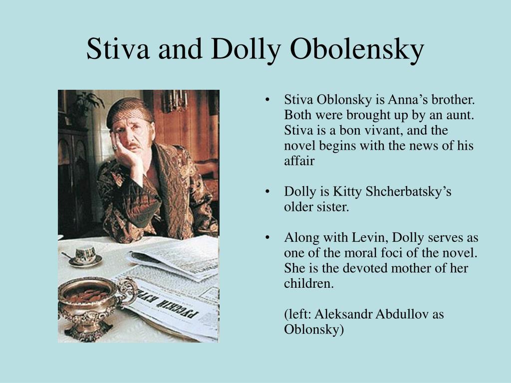 Stiva and Dolly Obolensky
