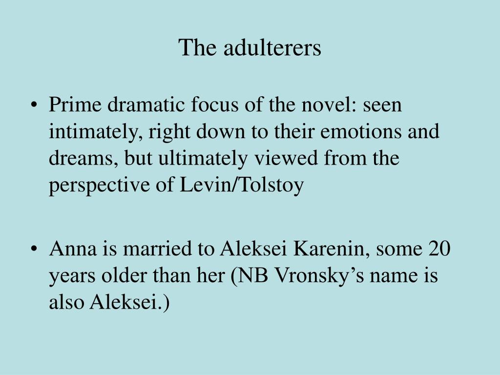 The adulterers
