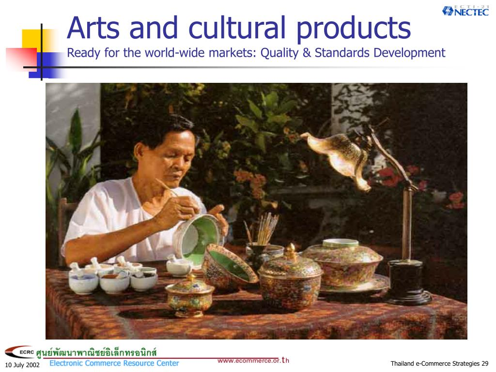Arts and cultural products