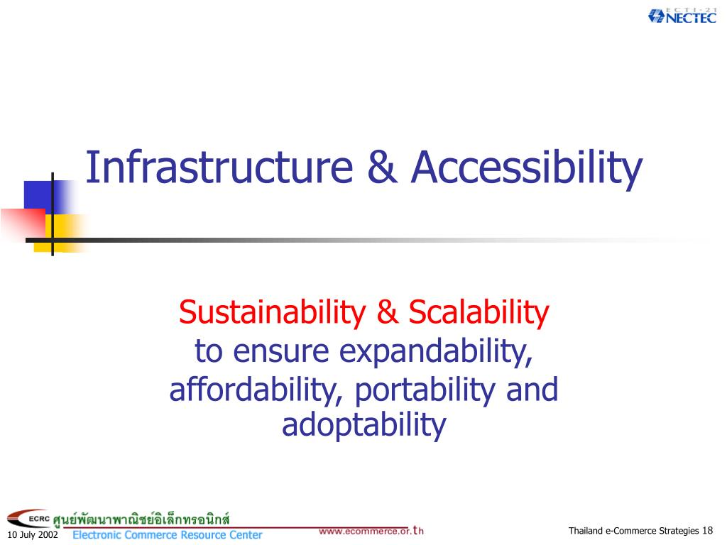 Infrastructure & Accessibility