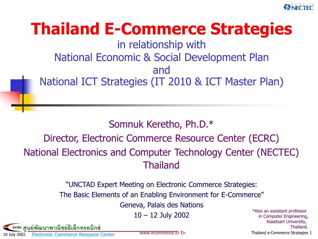 Thailand E-Commerce Strategies