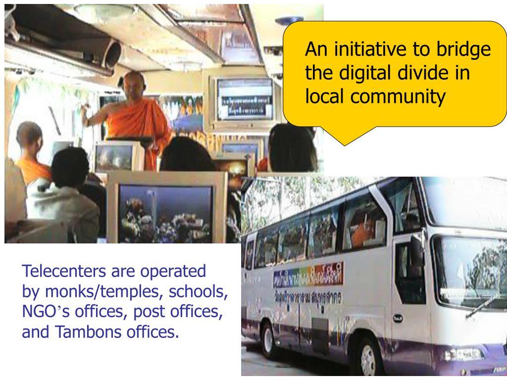 An initiative to bridge the digital divide in local community