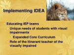 implementing idea34
