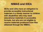 nimas and idea51