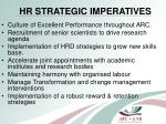 hr strategic imperatives