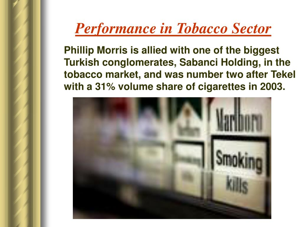 Performance in Tobacco Sector