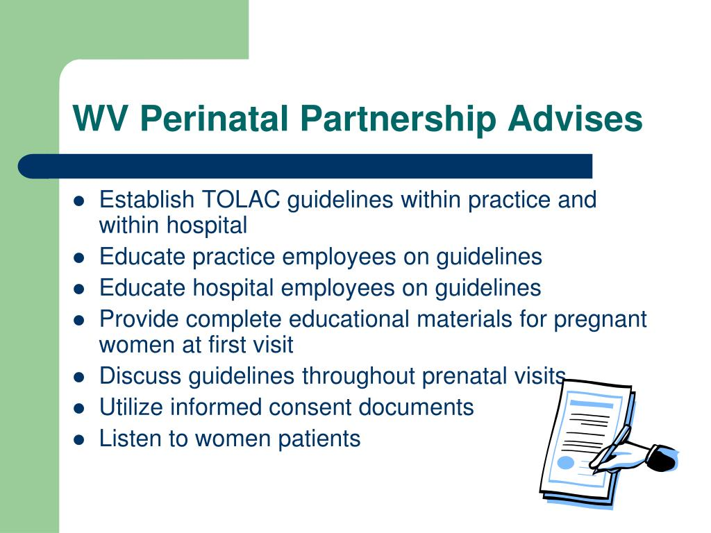 WV Perinatal Partnership Advises