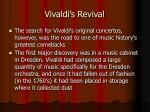 vivaldi s revival