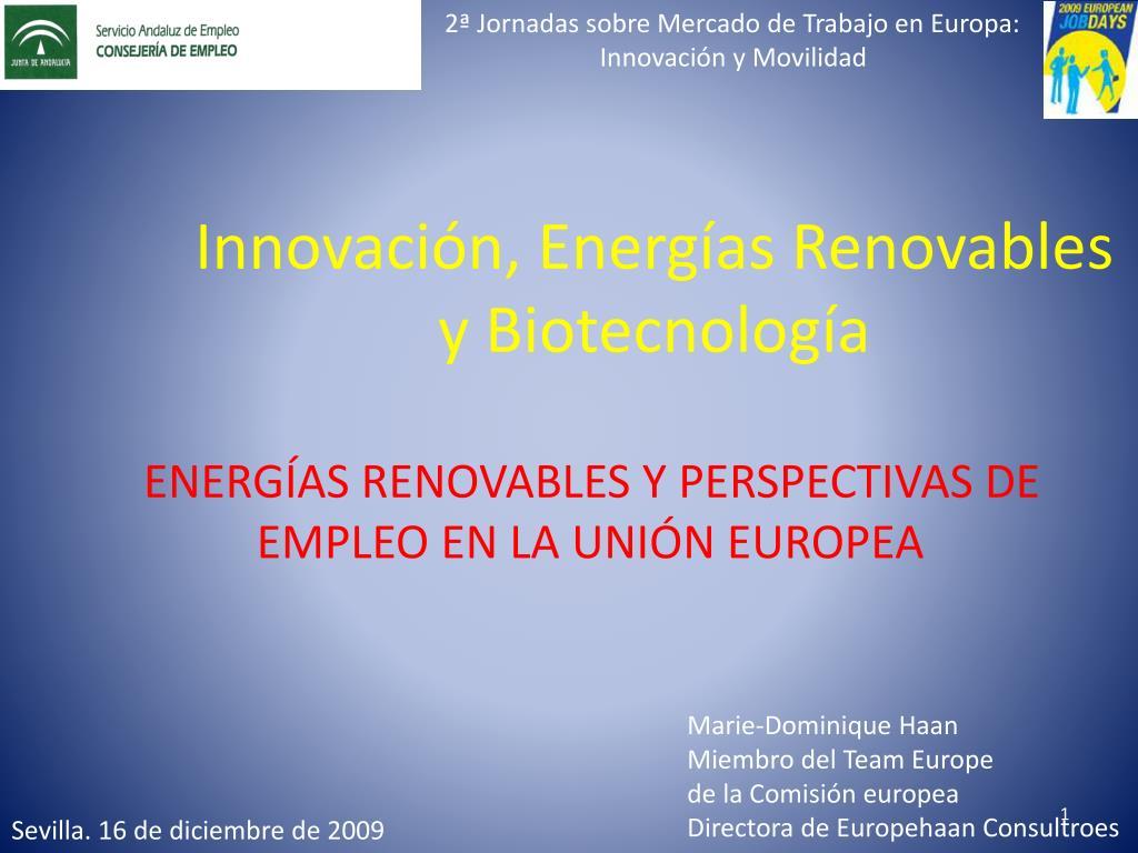 innovaci n energ as renovables y biotecnolog a l.