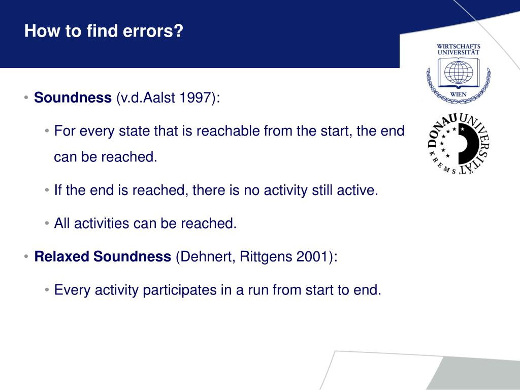 How to find errors?