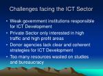 challenges facing the ict sector9