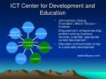 ict center for development and education