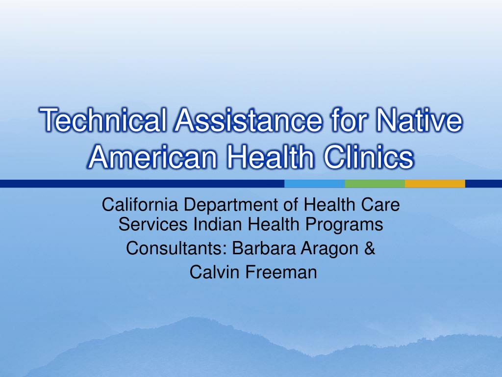 Technical Assistance for Native American Health Clinics