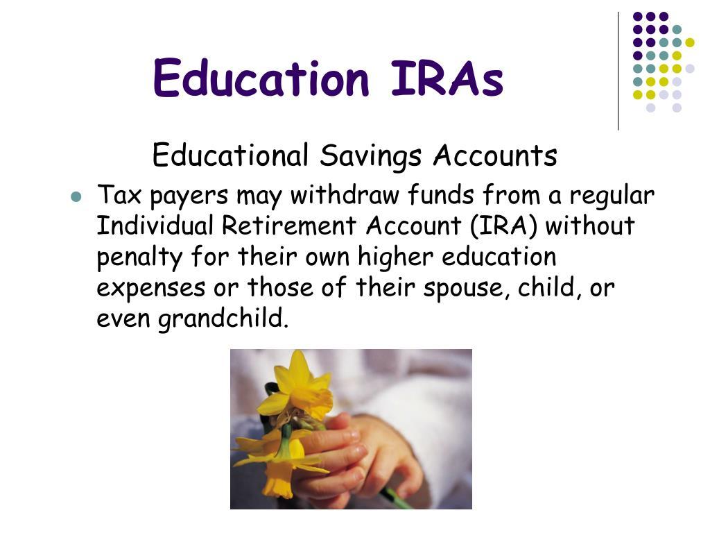 Education IRAs