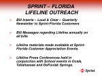 sprint florida lifeline outreach