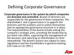 defining corporate governance6