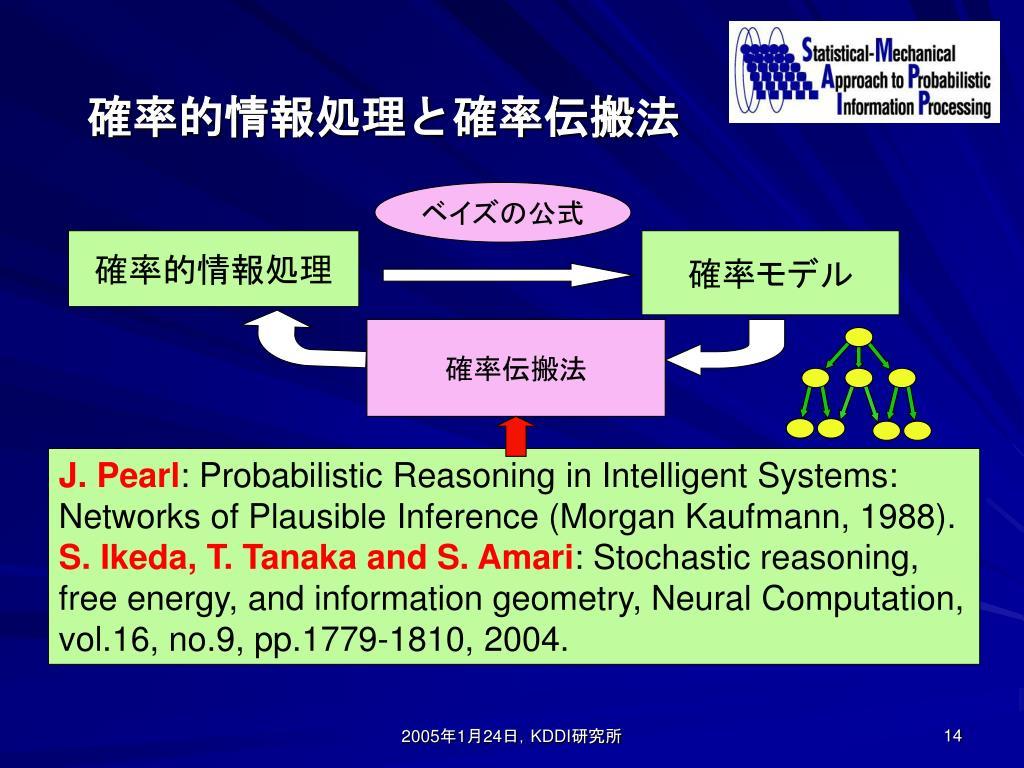 確率的情報処理と確率伝搬法