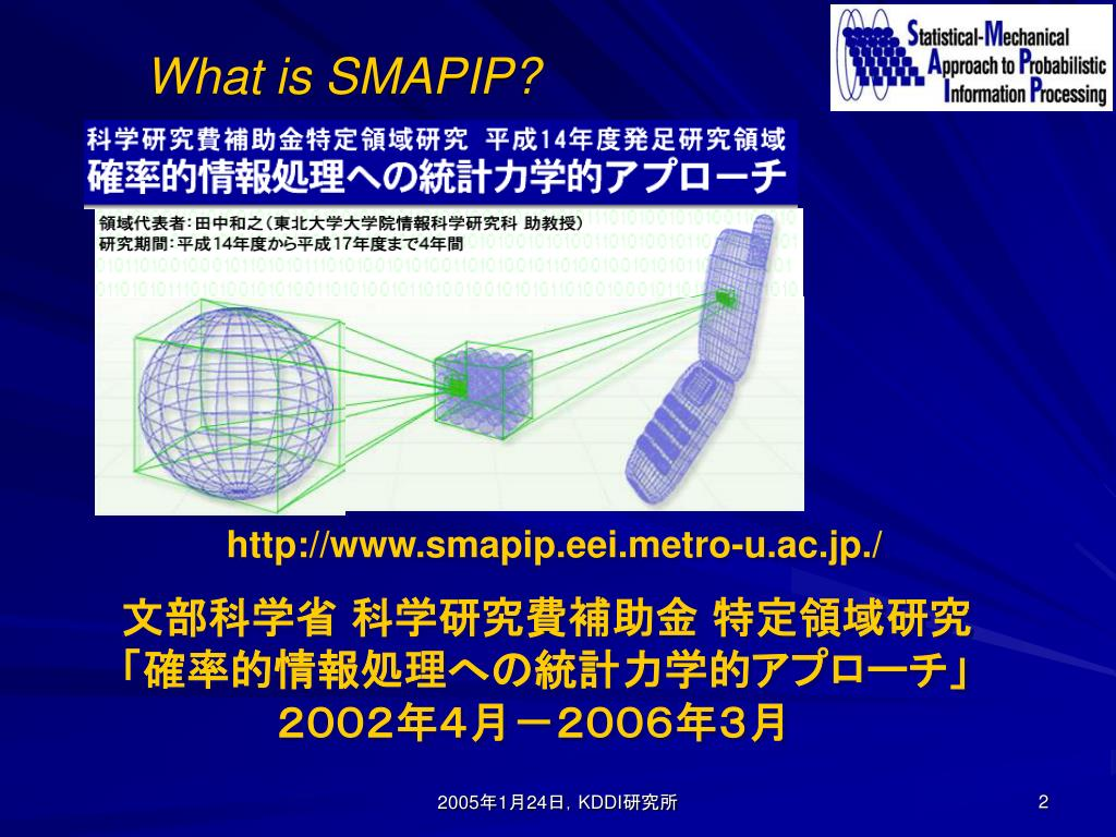 What is SMAPIP?