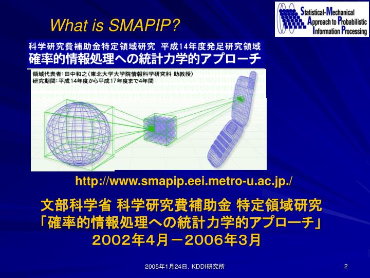 What is smapip