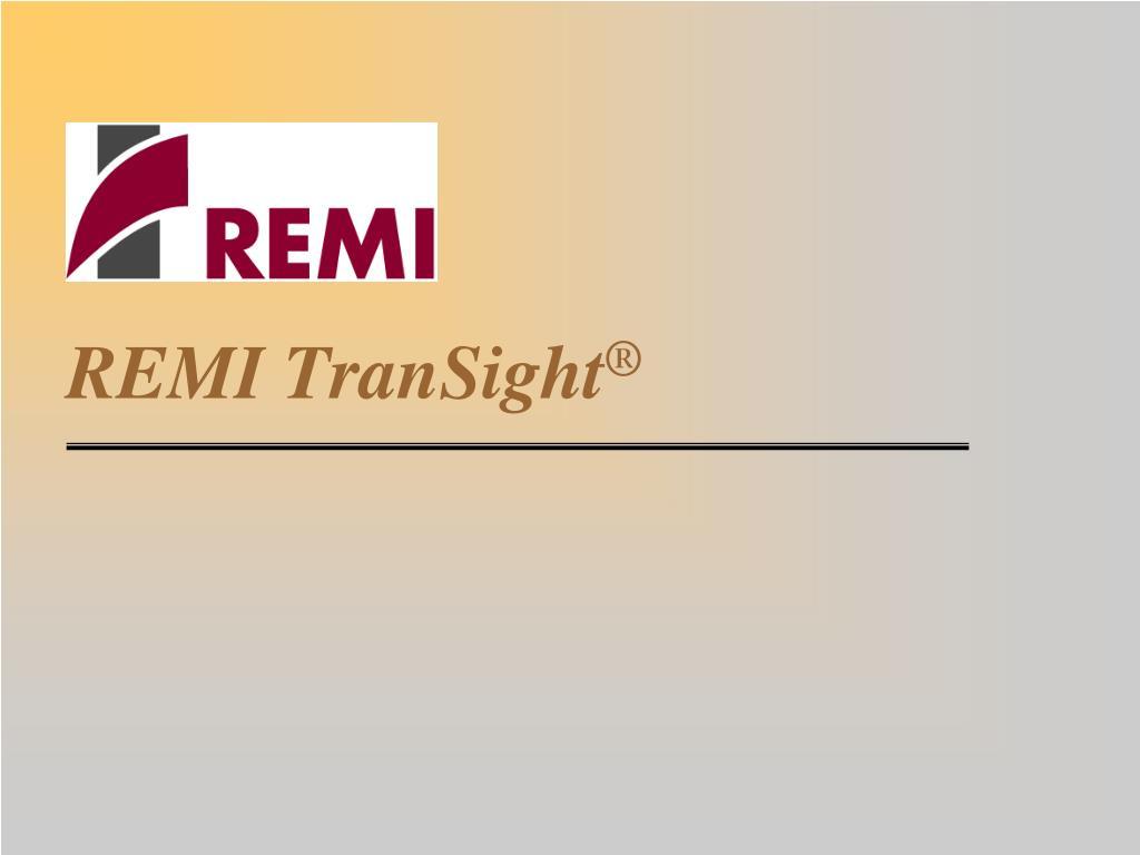 remi transight
