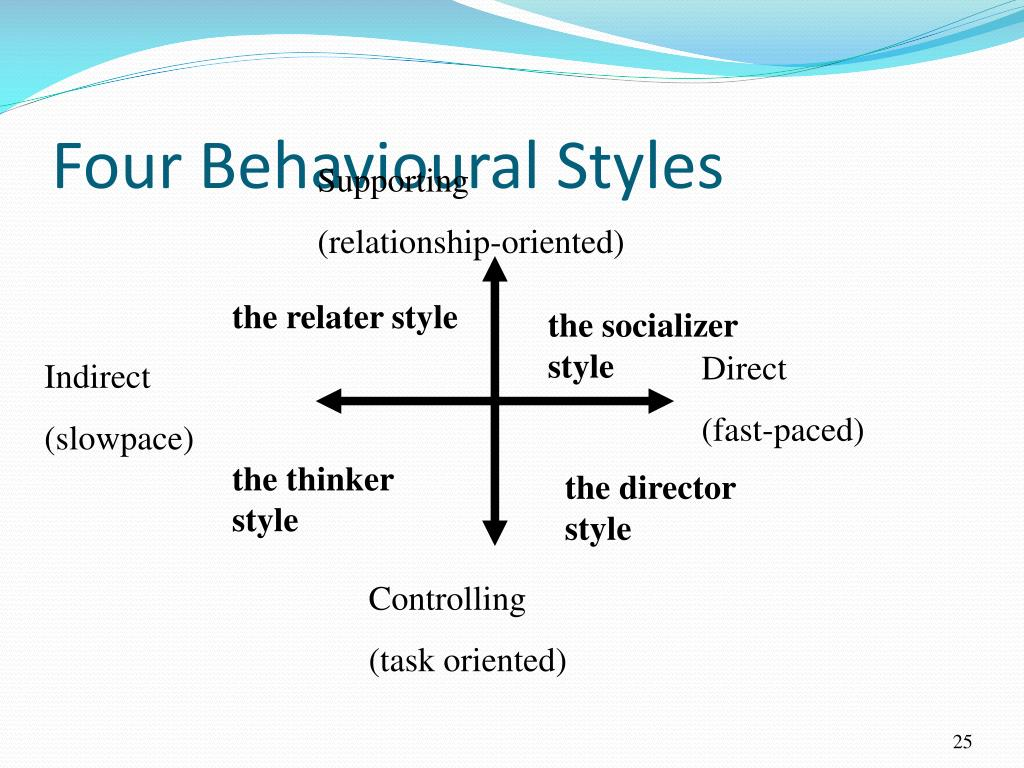 Four Behavioural Styles