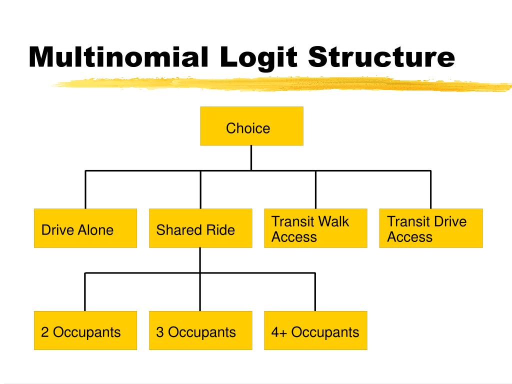 Multinomial Logit Structure